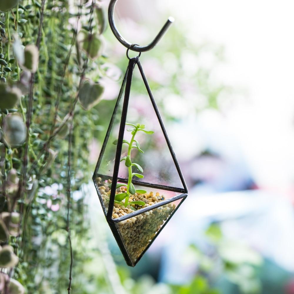 Plant Pot Holders Diy: DIY Modern Succulent Flower Pots Planter Air Plant Holder