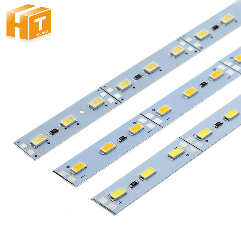 50pcs/lot DC12V 5630 LED Bar Light 36LEDs/50cm High Brightness LED Hard Rigid Strip For  ...