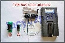 Tnm5000 nand programador + tsop48 tsop32 adaptador kit, usb universal programador nand flash programador nand,96 mhz relógio de alta velocidade