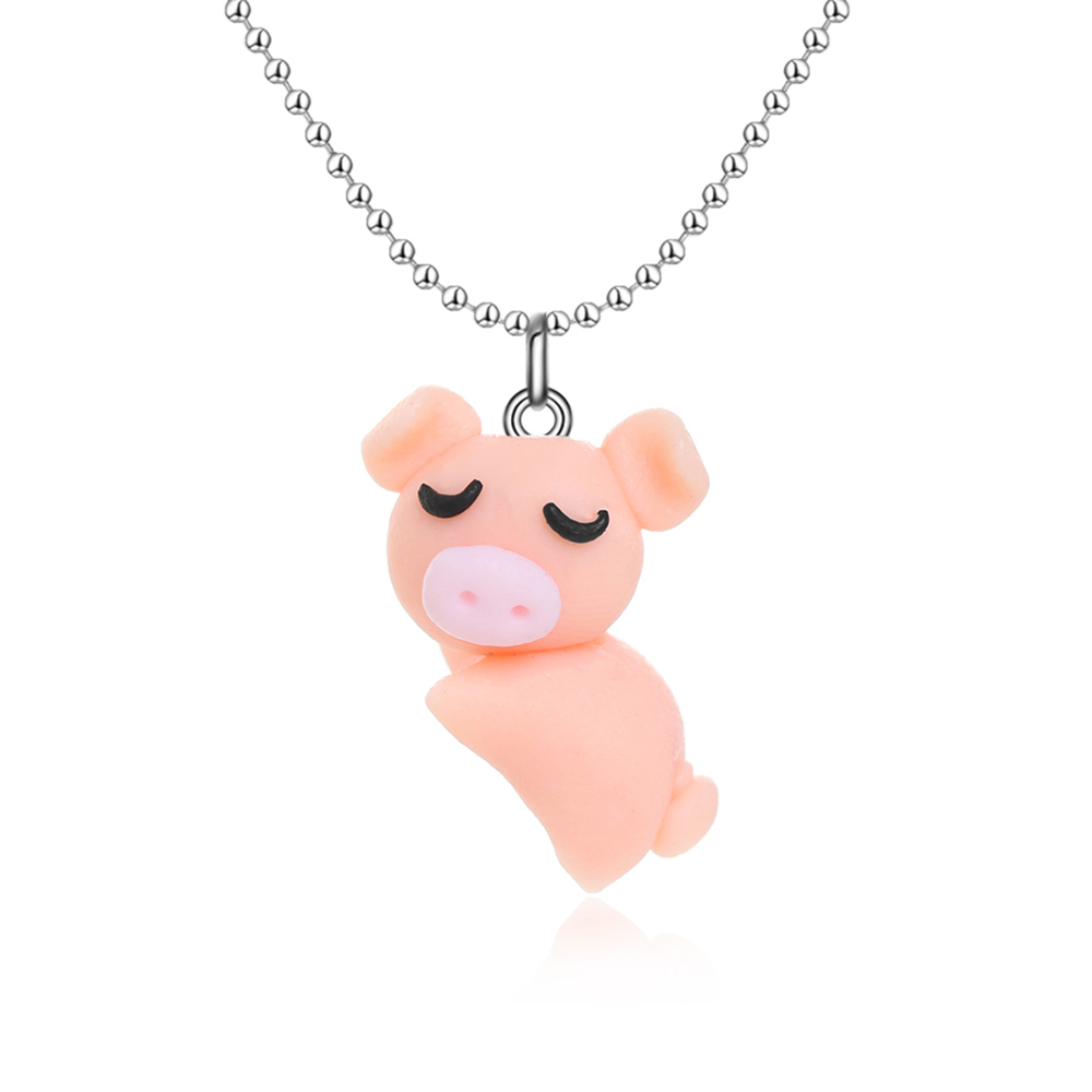 1set trendy cute cartoon jewelry set orange pig pendant necklace 1set trendy cute cartoon jewelry set orange pig pendant necklace for women animal polymer clay necklaceearrings jewelry gifts in jewelry sets from jewelry mozeypictures Gallery