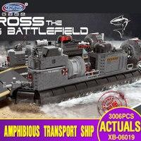 X модели совместимы с Lego x06019 3006 шт. транспортный корабль модели Building Наборы Конструкторы Игрушечные лошадки хобби для Обувь для мальчиков Об