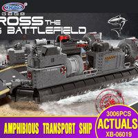 X Model Compatible with Lego X06019 3006Pcs Transport Ship Models Building Kits Blocks Toys Hobby Hobbies For Boys Girls