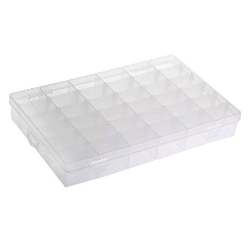 Organizador 36 Compartimento Plstico Bisutera Ajustable - Home Storage und Organisation - Foto 4
