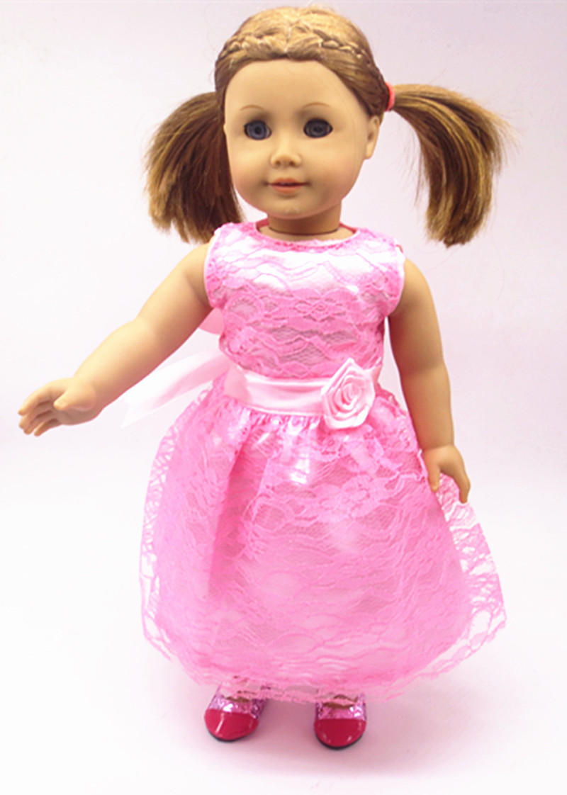 2016 new 18 inch American girl dolls clothes skirt suit children toy accessories Christmas gift birthday