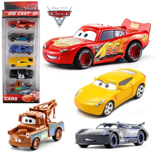 Voitures Dégagement Jouets Disney En Foudre 3 De Voiture Métal Pixar HYE29WID