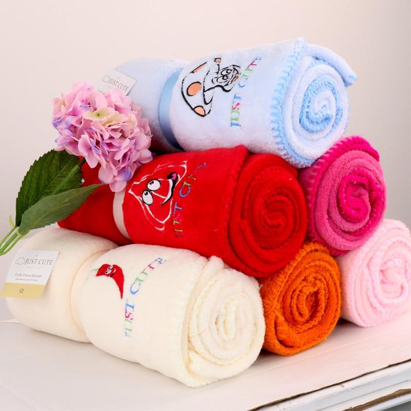 ca5109302ae34 الأزياء المرجانية بطانية أطفال من الصوف لحديثي الولادة تلقي البطانيات  الفراش الرضع القطن قماط منشفة طفل منشفة استحمام التخليص