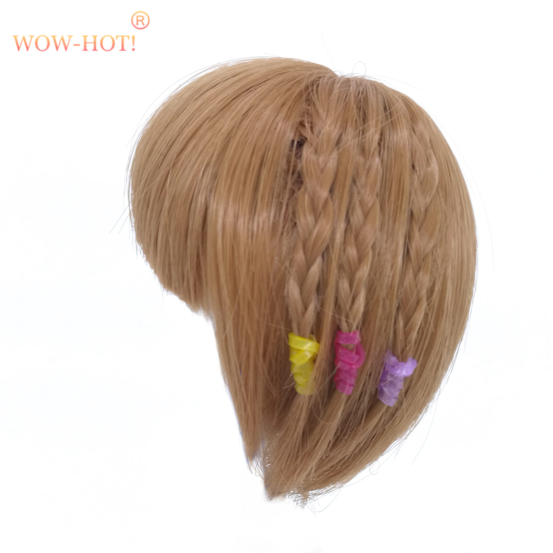 1/8 Bjd Doll Wigs for Lati Dolls High Temperature Wire Long Curly Synthetic Doll Hair for BJD Dolls Accessorries Short Wigs wowhot 1 4 bjd sd doll wigs for dolls high temperature wires short straight bangs fashion wig 1 6 1 3 for dolls accessories toy