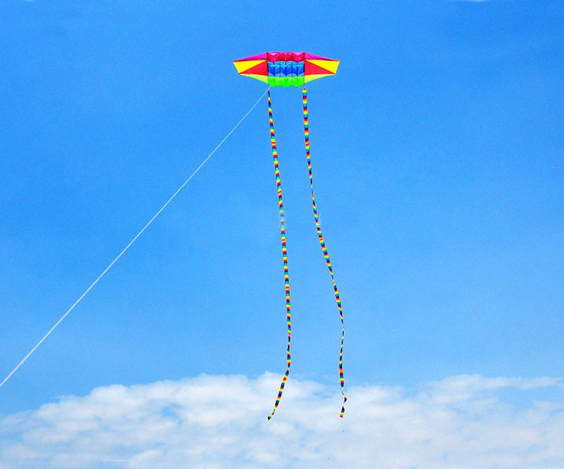 Высокое качество 3d воздушный змей Радарный воздушный змей линия 5 шт./партия weifang с фабрики воздушный змей открытый игрушки кайтсерфинга Спорт