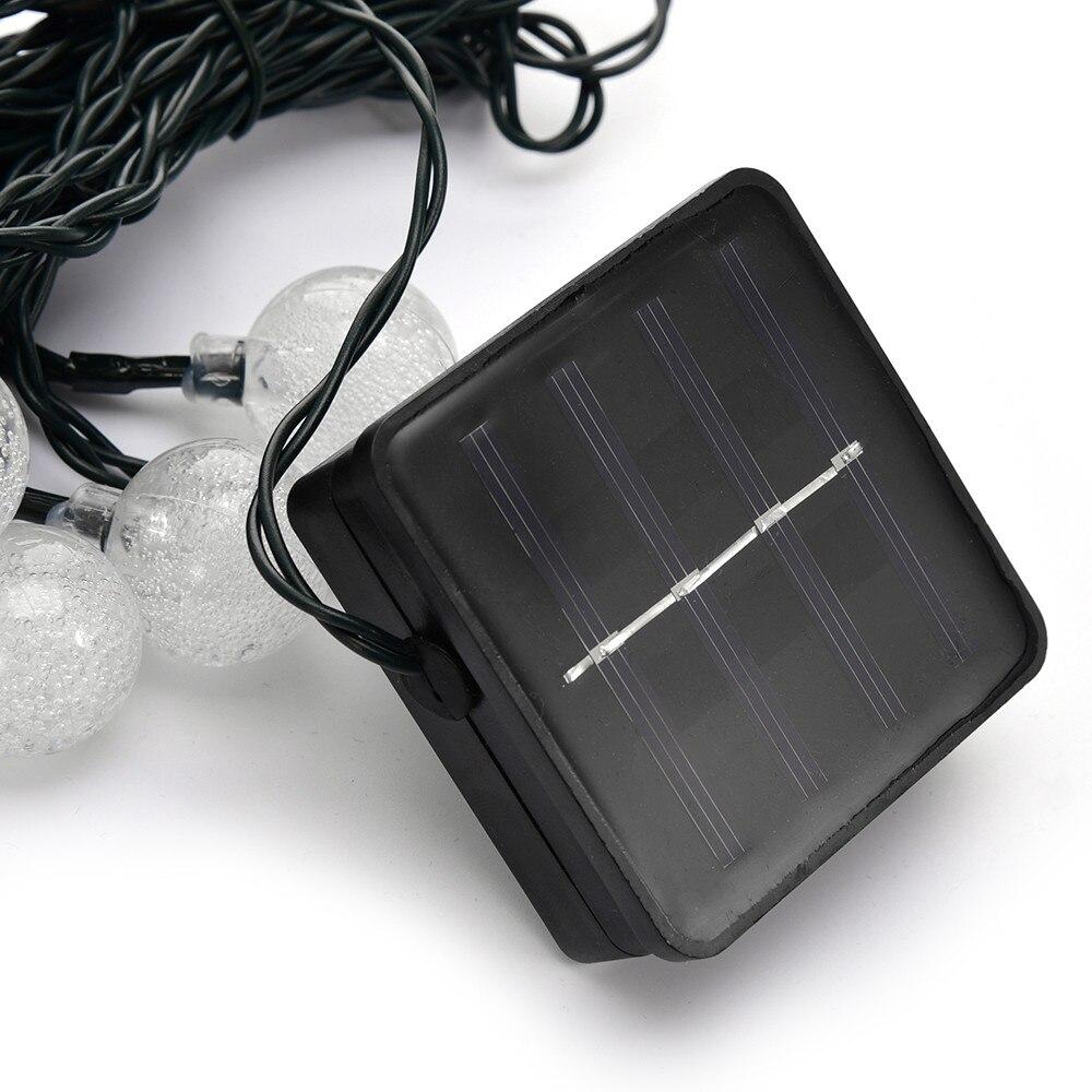 Twinkling Globe String Lights : Waterproof OriGlam 15.75ft 20 LEDs Solar Powered Outdoor Twinkling Bubble Globe String Lights ...