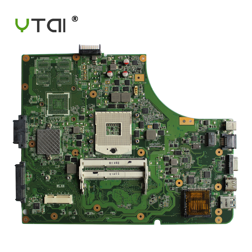 YTAI K53SD REV:2.3 mainboard For Asus K53E X53E A53E K53SD laptop Motherboard REV: 2.3 HM65 PGA989 DDR3 Mianboard fully tested k53sd rev 2 3 k53e motherboard for asus laptop 100