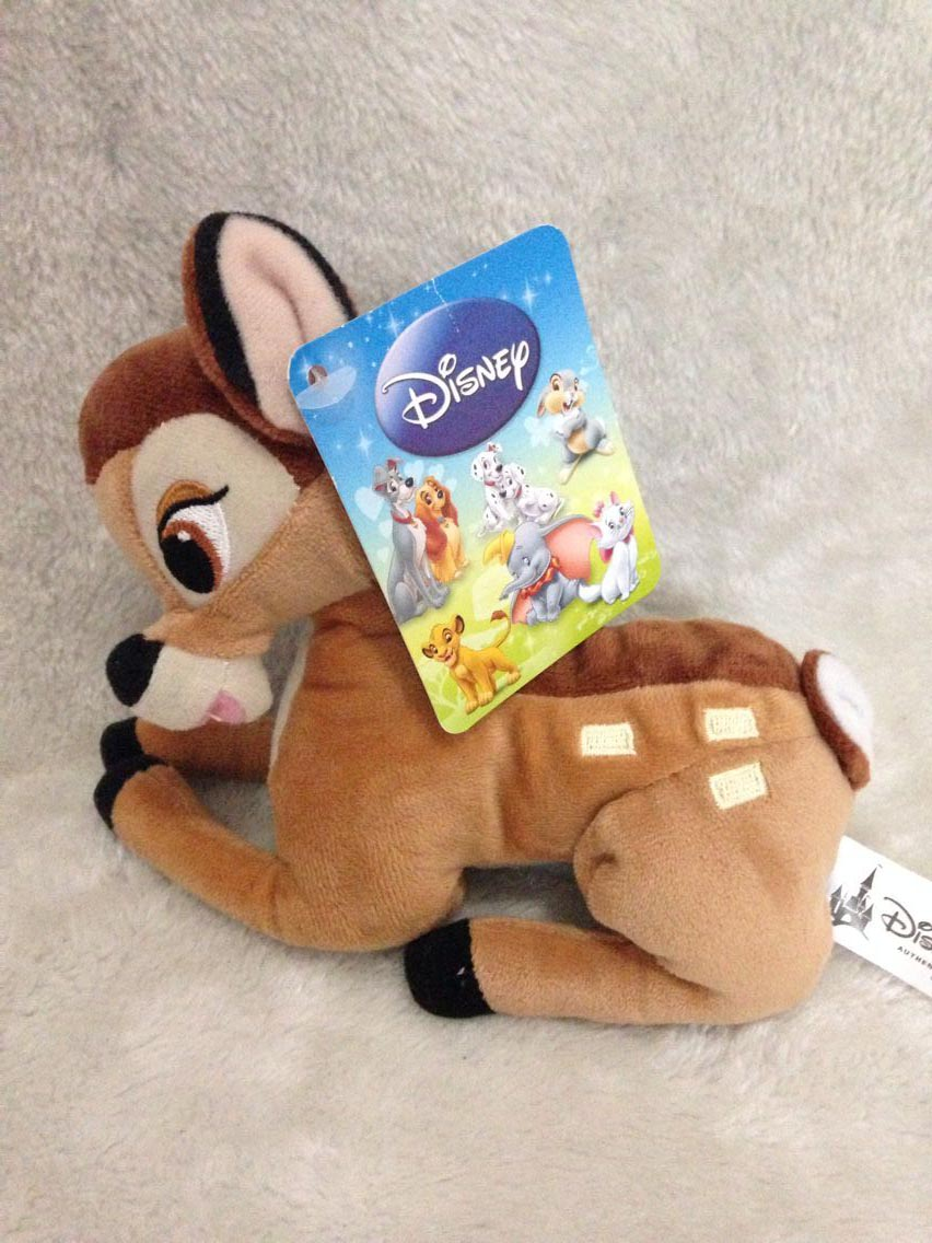 cute cartoon little deer bambi plush stuffed toy birthday gift for kids 16cm