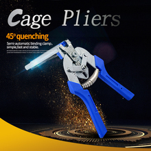 High Quality Poultry Cage Pliers Installation Clamp 600M Nails Animal wire Cages Repair Chicken Rabbit Tools Tie