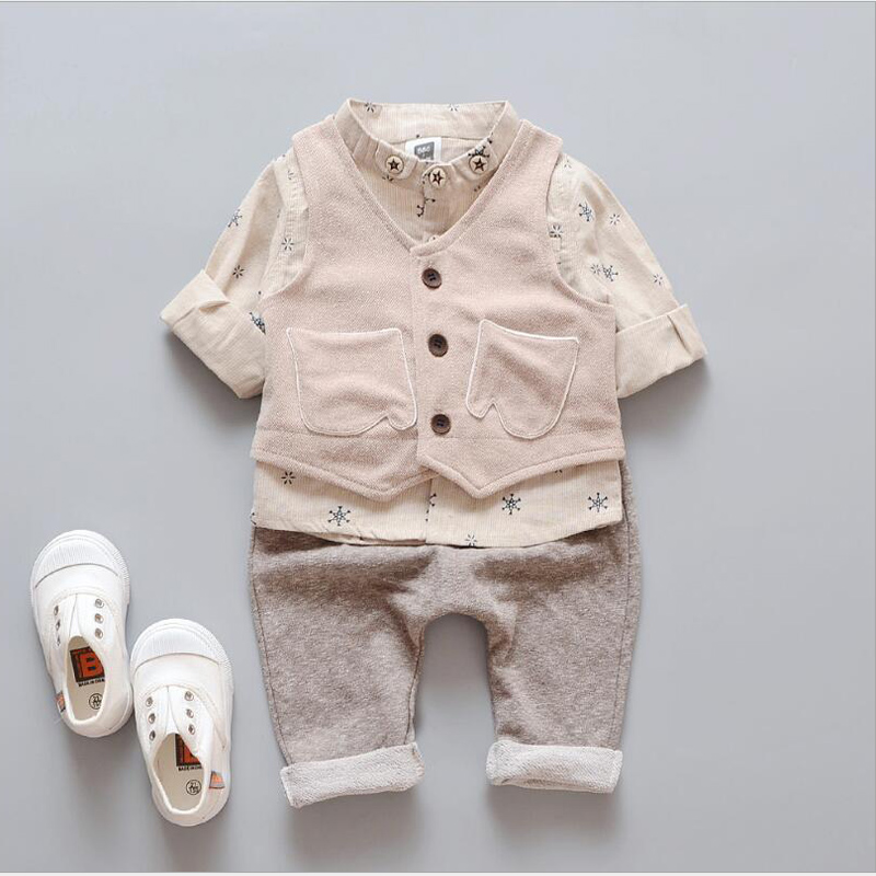 Newborn Baby Boy Girl Clothes Sets Autumn Spring Shirt Suit Children Kids Trend Set Baby Clothes unisex Clothing Bottoming Shirt baby boy clothes 2017 brand summer kids clothes sets t shirt pants suit clothing set star printed clothes newborn sport suits