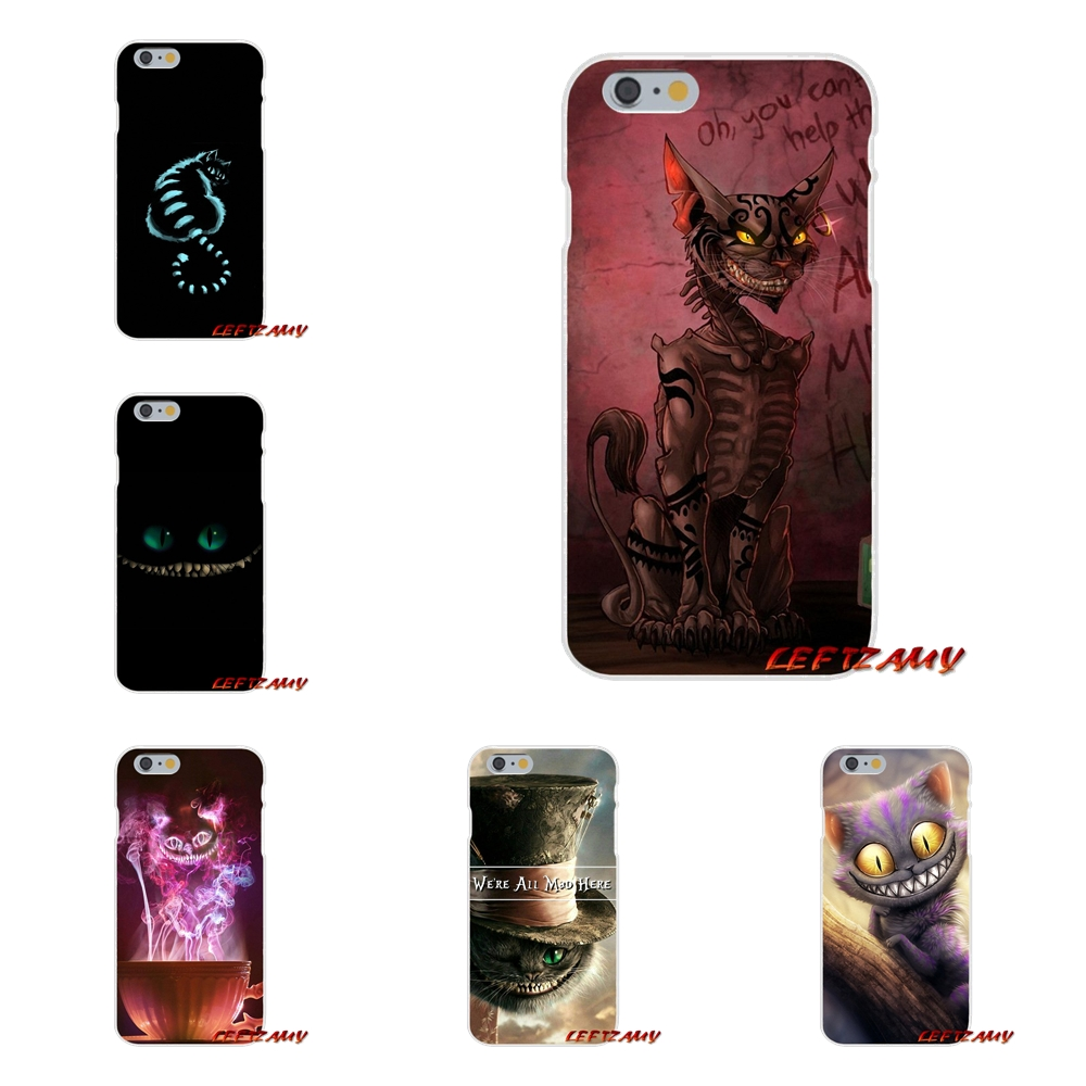 For Xiaomi Mi6 Mi 6 A1 Max Mix 2 5X 6X Redmi Note 5 5A 4X 4A A4 4 3 Plus Pro Alice In Wonderland Cheshires Cat Design Phone Case