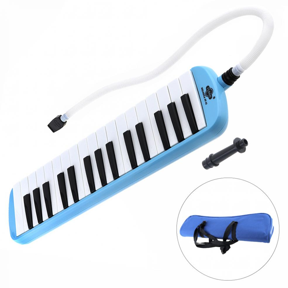 32 Keys Melodica Musical Instruments Piano Style Harmonica For Music Lovers Beginners Gift With Carrying Bag Bringing More Convenience To The People In Their Daily Life