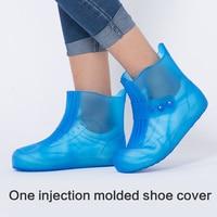 New water Rain Covers shoes men and women rainproof non slip thickening rain boots waterproof rainy women's shoes set sale 3
