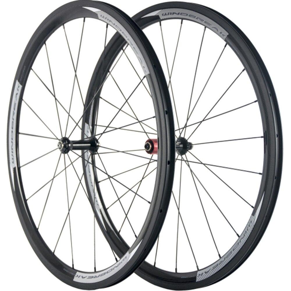 Windbreak T700 Carbon Wheelset Clincher 38mm Cycling