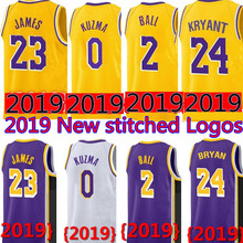 2f4778c7c 2019 New 23 LeBron James jersey 0 Kyle Kuzma 2 Lonzo Ball 14 Brandon Ingram 24  Kobe Bryant JERSEYS