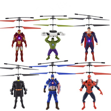 zdalnie helikopter Iron zabawki
