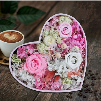 Wedding Decoration Flower Valentines Day Gift Forever Love