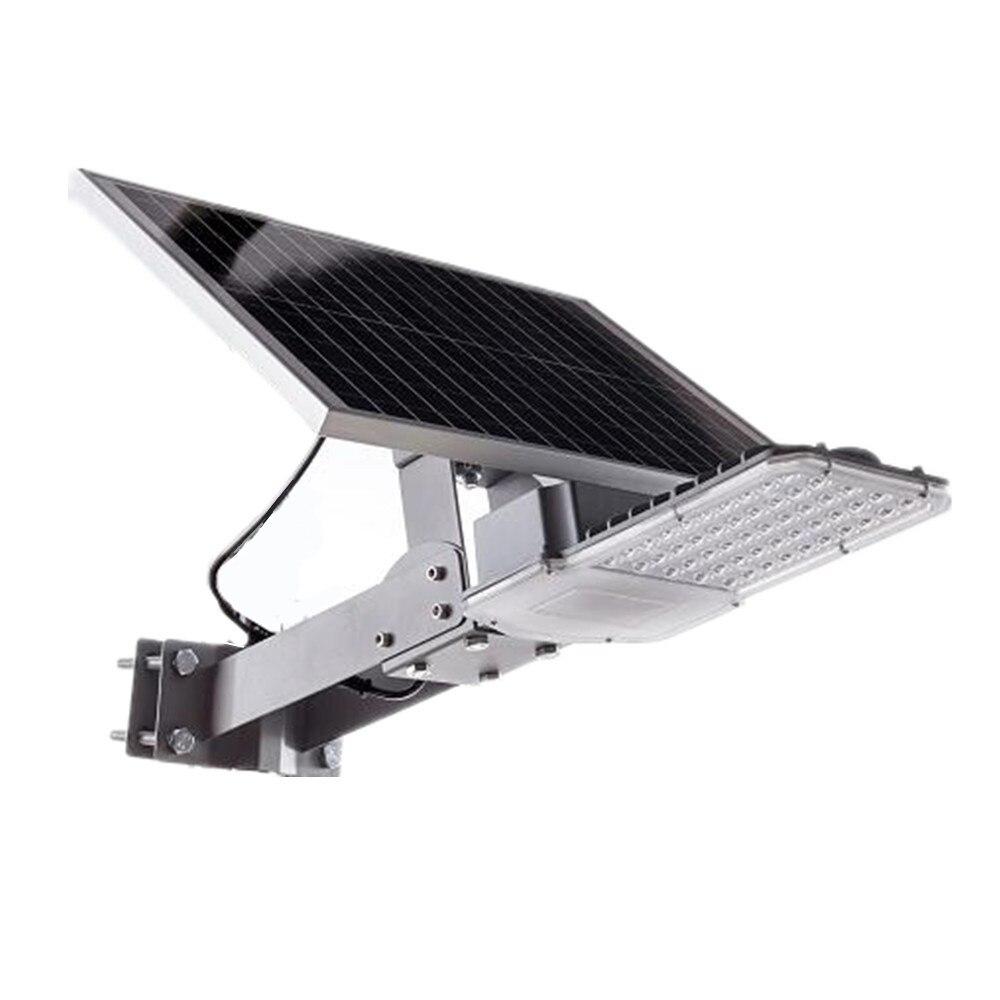 50 Led Solaire Lumière 30led SMD3030 Micro-ondes Radar Détecteur de mouvement Alimenté Rue Lampes Jardin D'énergie Extérieure Éclairage Étanche