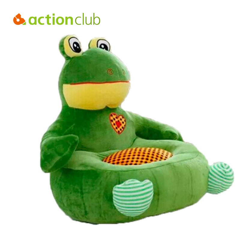Actionclub 2015 New Brand Kawaii Relax Plush Toys  Baby Sofa Kids Learn Seat Feeding Chair Baby Bean Bag Plush Furniture HK432 baby anti rollover safety seat portable waist stool children small sofa cartoon plush nursing feeding pillow learn to sit sofa