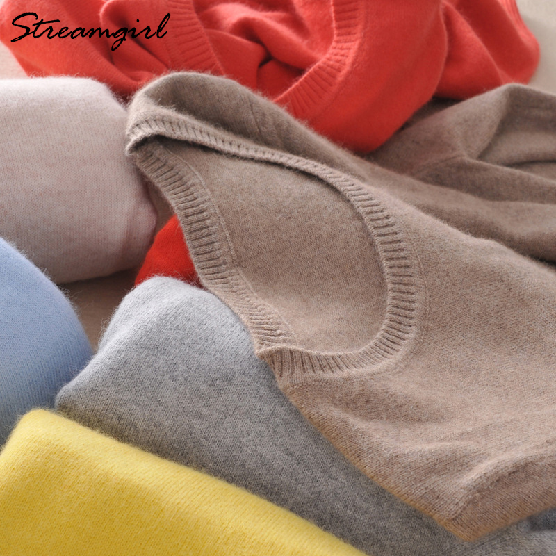 Cashmere Sweater Female Knitted Pullover Women Winter Sweaters Plus Size Cashmere Sweater Women Jumper O Neck 2019 Pull Femme