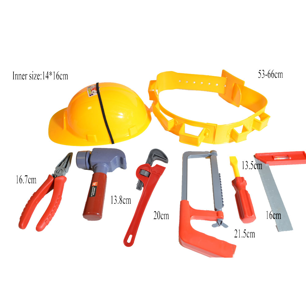 10 OFF Construction Worker Role Play Dress Up Set Kids