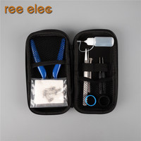 REE ELEC Ceramic Tweezers Coil Jig Organic Cotton Mini Screwdriver Ect Electronic Cigarette RDA Atomizer Accessories