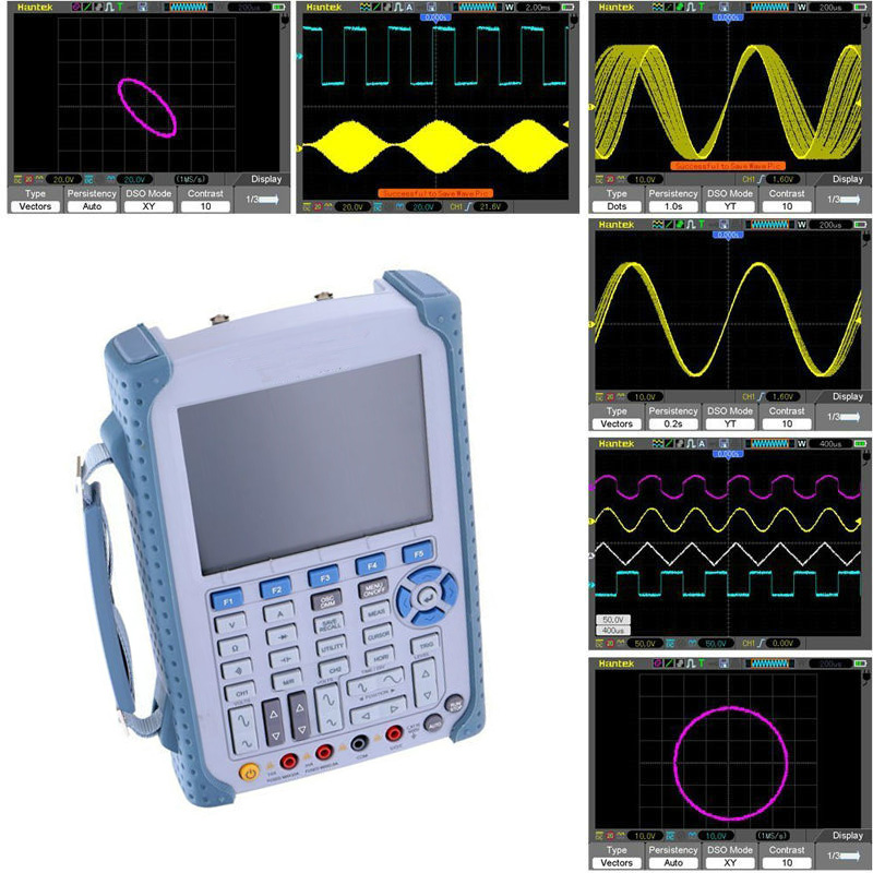 <font><b>DSO1102B</b></font> Portable Handheld strong Digital Oscilloscope /Multimeter 100MHz Bandwidth 2 Channel Factory direct sales image
