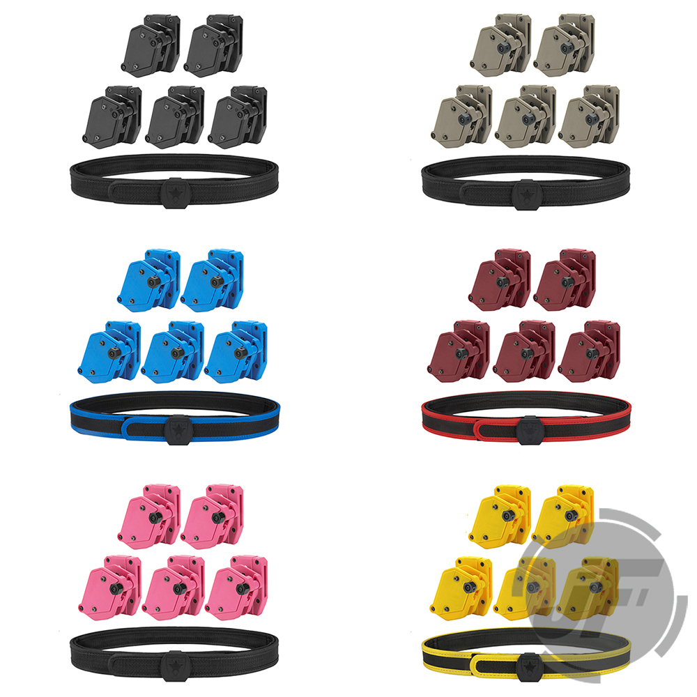 IPSC USPSA IDPA 1 5 Shooting Inner Outer Belt Competition High Speed 5x Multi Angle Speed