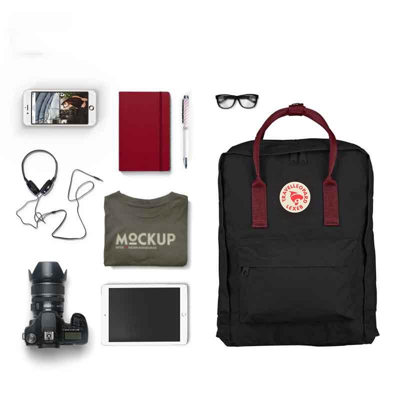TRAVEL LEOPARD Kanken Backpack School Kanken Backpack Classic Women 2019 Travel School Bags For Teenage Girls 23510