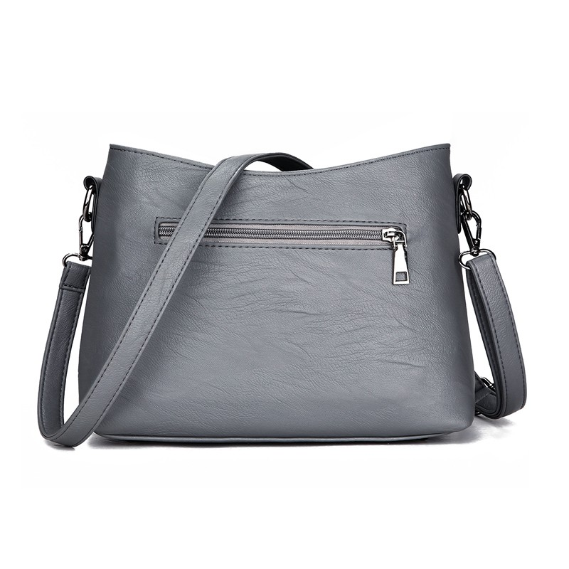 Women Plaid Messenger Bags Sac a Main PU Leather Shoulder Bags Lingge Women Crossbody Bag Ladies Designer High Quality Handbags