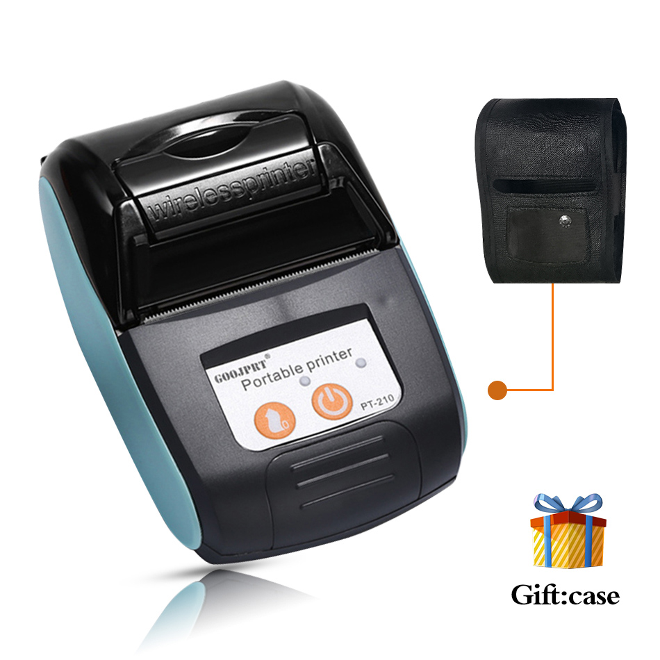 POS Bill Bluetooth printer 58mm for android phone Mini wireless pocket mobile printer Portable Thermal Receipt Printer 2 inch(China)