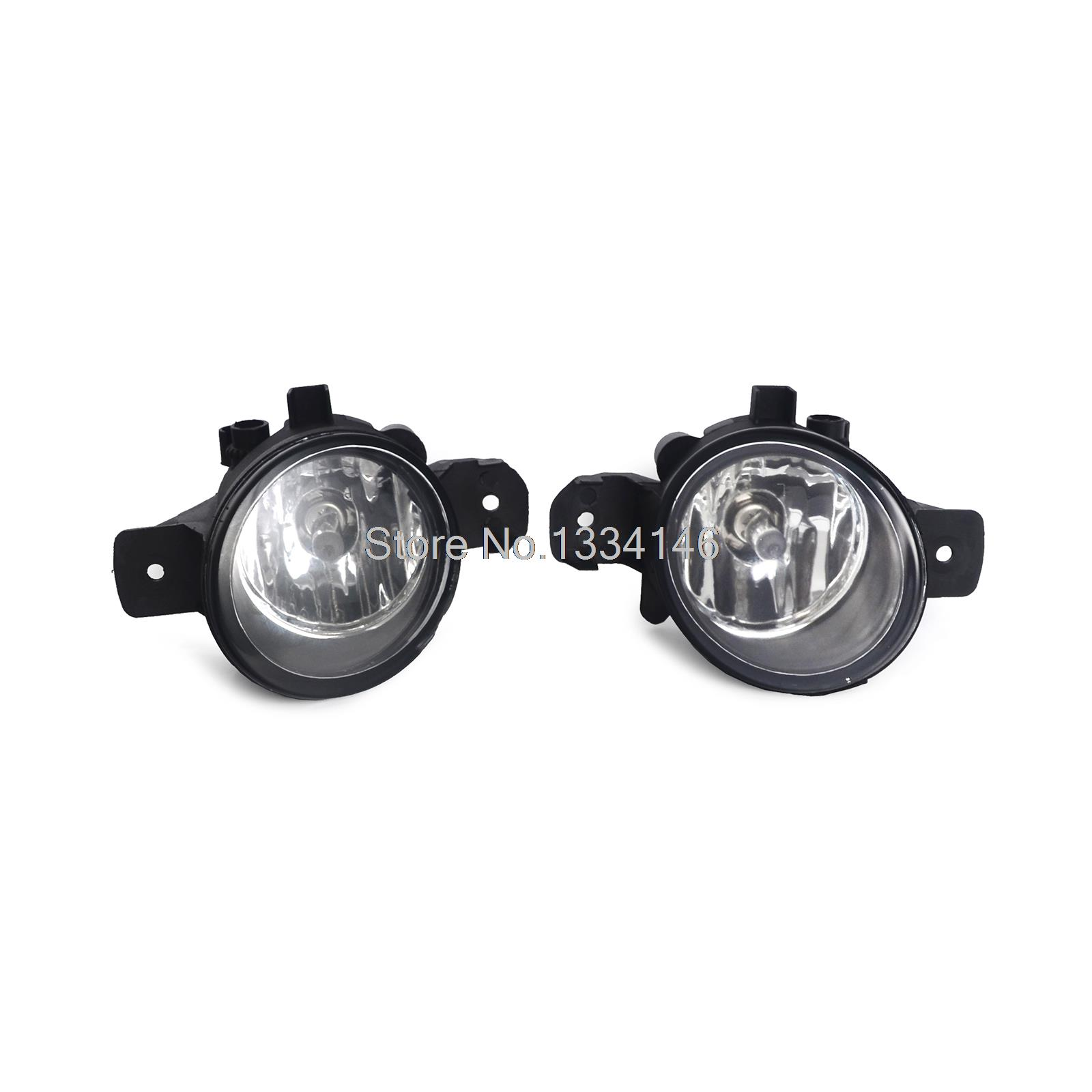 ФОТО Replacement NI2593117 Fog Lights Pair RH LH For Nissan Rogue 2008-2010 Euro