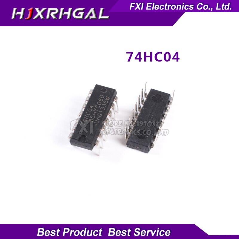 10PCS SN74HC04N SN74HC04 DIP14 DIP 74HC04N 74HC04 new original free shipping