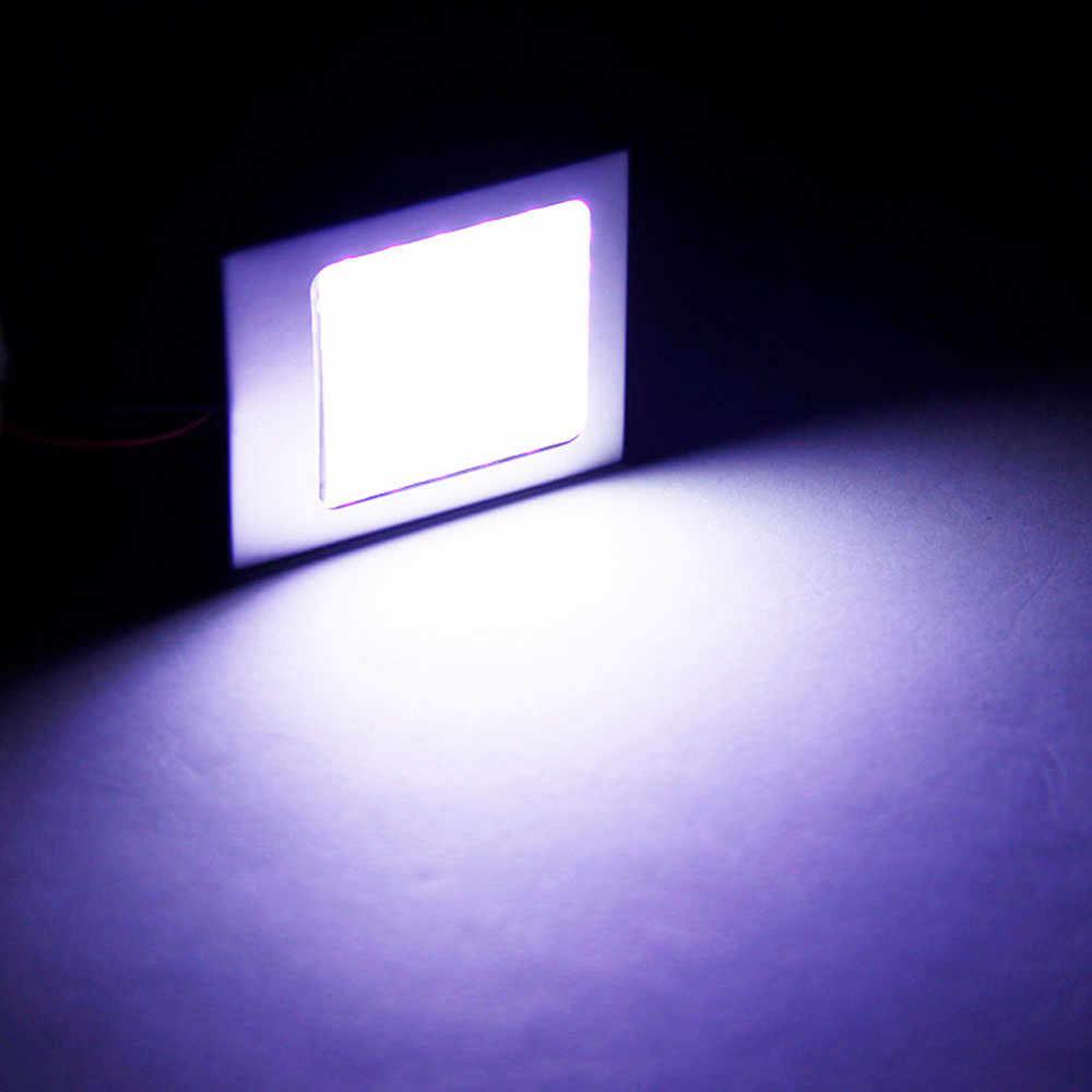 سيارة التصميم 12 فولت 3 واط سيارة الداخلية غرفة قبة مصباح ليد 48 led سمد COB LED سيارة مصباح لوح سيارة ضوء لمبة مصباح # A190319