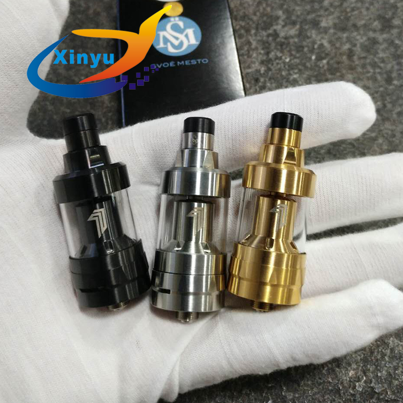YFTK Kayfun Prime RTA 2.0ml Capacity Control Rebuildable Airflow Tank 316 Stainless Steel 22mm Diameter Atomizer Vs Kayfun V6