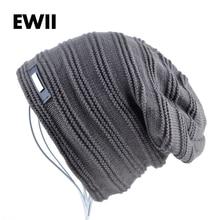2016 Bonnet skullies men winter hat boy knitted beanie hats for men beanies warm caps gorro russian ushanka wool warm cap bone