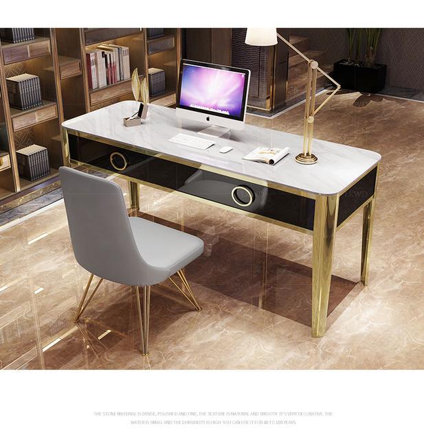 Mesa Escritorio de oficina white office desk recibidor de entrada mueble study table escrivaninha biurko scrivania picnic table
