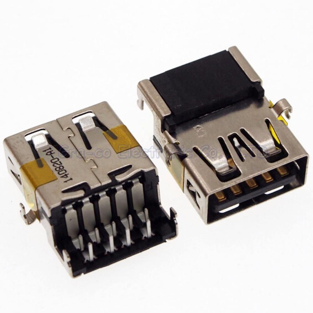 10pcs/lot USB socket USB 3.0 port for ASUS Lenovo Dell etc Motherboard 3.0 usb connector
