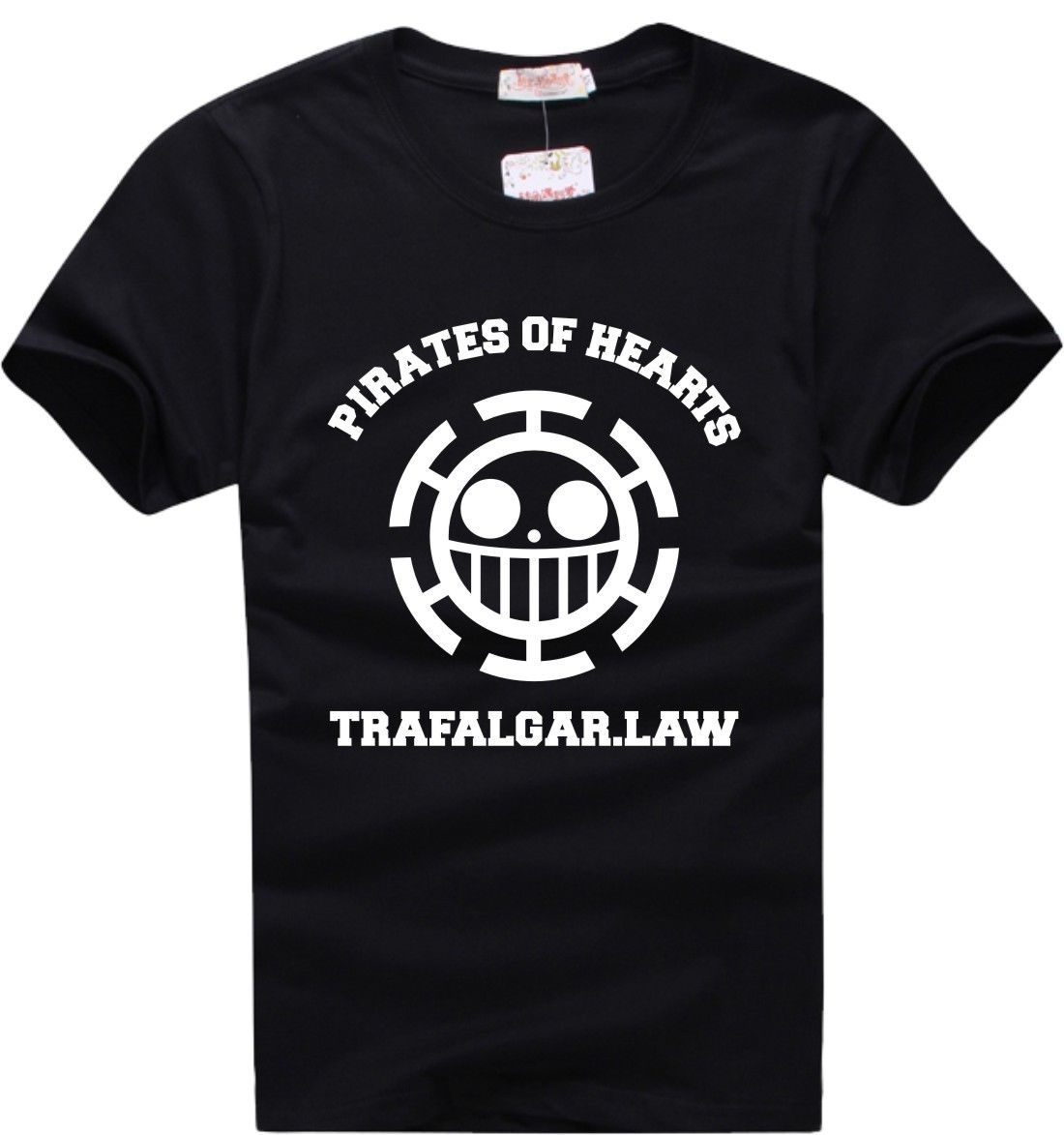 One Piece Trafalgar Law T-Shirt Animation Comic Cosplay  Cartoon t shirt men Unisex New Fashion tshirt free shipping
