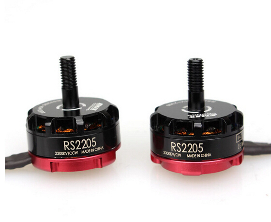 F17779/80 Emax CW CCW RS2205 2300KV Brushless Motor for FPV Quad Copter Racing Race Motors image