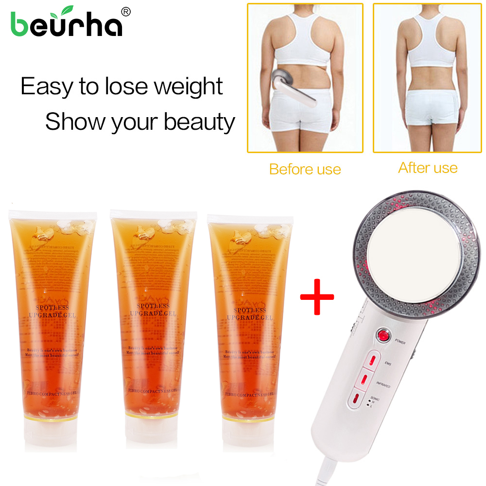 Ultrasound Cavitation EMS Body Slimming Massager Weight Loss Lipo Anti Cellulite Fat Burner Galvanic Infrared Cream