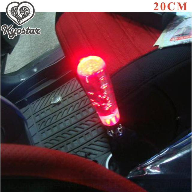 200mm 20cm Car LED Shift Knob Light Up Dildo Crystal Gear Knobs Amazing Pictures
