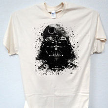 STAR WARS, Inspired Darth Vader ART Retro, Ivory T-SHIRT,Size: 4X, B2-02 Free shipping
