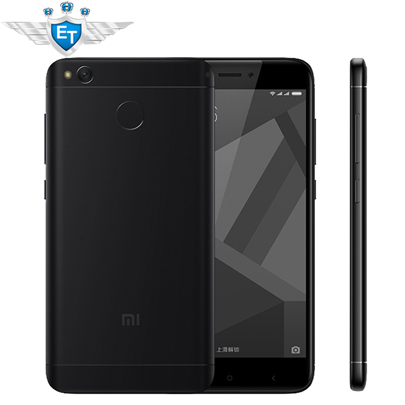 "Цена за Оригинал xiaomi redmi 4 х 4 х смартфон 2 ГБ 16 ГБ 5.0 ""HD Экран Snapdragon 435 Окта основные 4100 мАч 13MP MIUI 8.2 Глобальный ROM OTA"