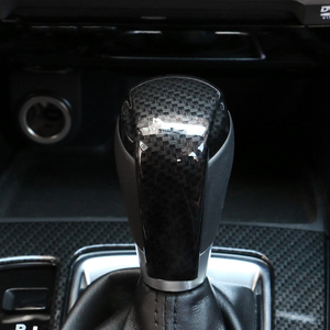 Хромированная ручка переключения передач, Отделка пайетками, внутренняя крышка значка, декоративная крышка для Mazda 2 Demio DL Sedan DJ Hatchback 2015-17
