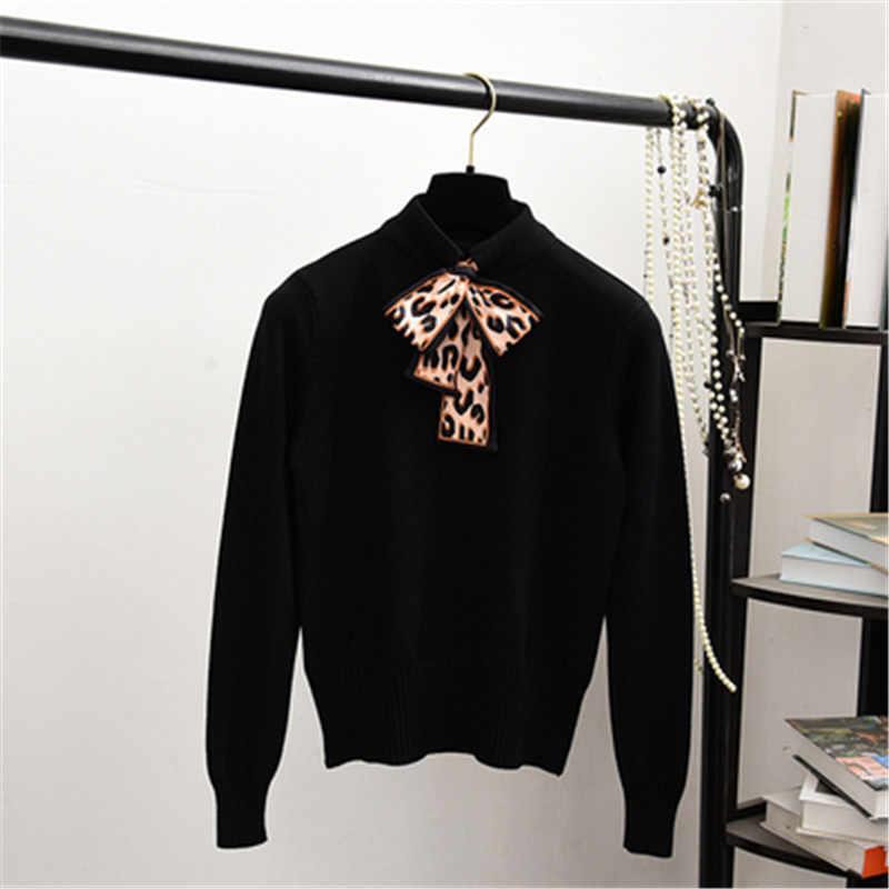 2019 nuevas mujeres suéteres otoño suéteres tejidos Mohair manga larga Mujer Casual suelta Jumper Pull Femme suéter de gran tamaño