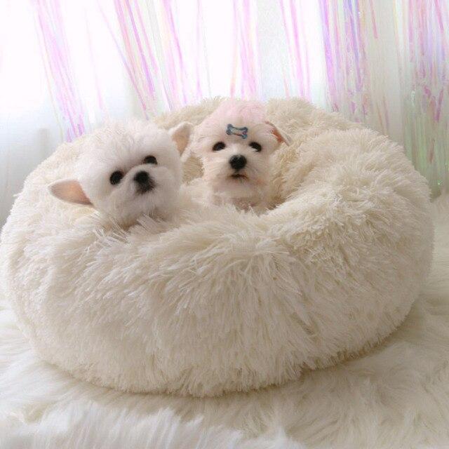 Haustier Hund Betten Luxus Runde Hauser Lange Wolle Warme Weiche Katze Bett Pet Waschbar Kissen Fur Hunde Handtucher